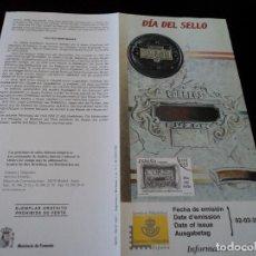 Sellos: INFORMACION FILATELICA DE CORREOS DIA DEL SELLO 2001. Lote 207339906