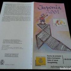 Sellos: INFORMACION FILATELICA DE CORREOS JUVENIA 2001. Lote 207339973