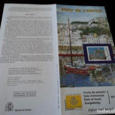 Sellos: INFORMACION FILATELICA DE CORREOS VILLA DE LUARCA, 2001. Lote 207340740