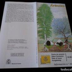 Sellos: INFORMACION FILATELICA DE CORREOS LA HAYA Y ELOLIVO 2001. Lote 207340882