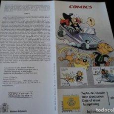 Sellos: INFORMACION FILATELICA DE CORREOS COMICS ROMPETECHOS 2001. Lote 207342252