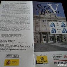 Sellos: INFORMACION FILATELICA DE CORREOS SERIE BASICA VALENCIA 2004. Lote 207753296