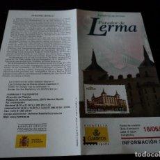 Sellos: INFORMACION FILATELICA DE CORREOS PARADOR DE LERMA 2004. Lote 207753991