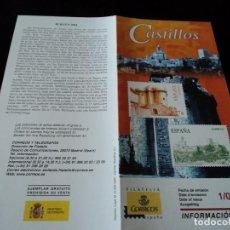 Sellos: INFORMACION FILATELICA DE CORREOS CASTILLO DE GRANADILLA 2004. Lote 207754100