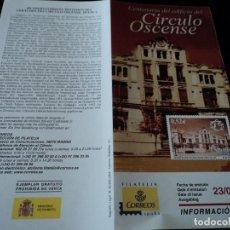 Sellos: INFORMACION FILATELICA DE CORREOS CIRCULO OSCENSE 2004. Lote 207755132
