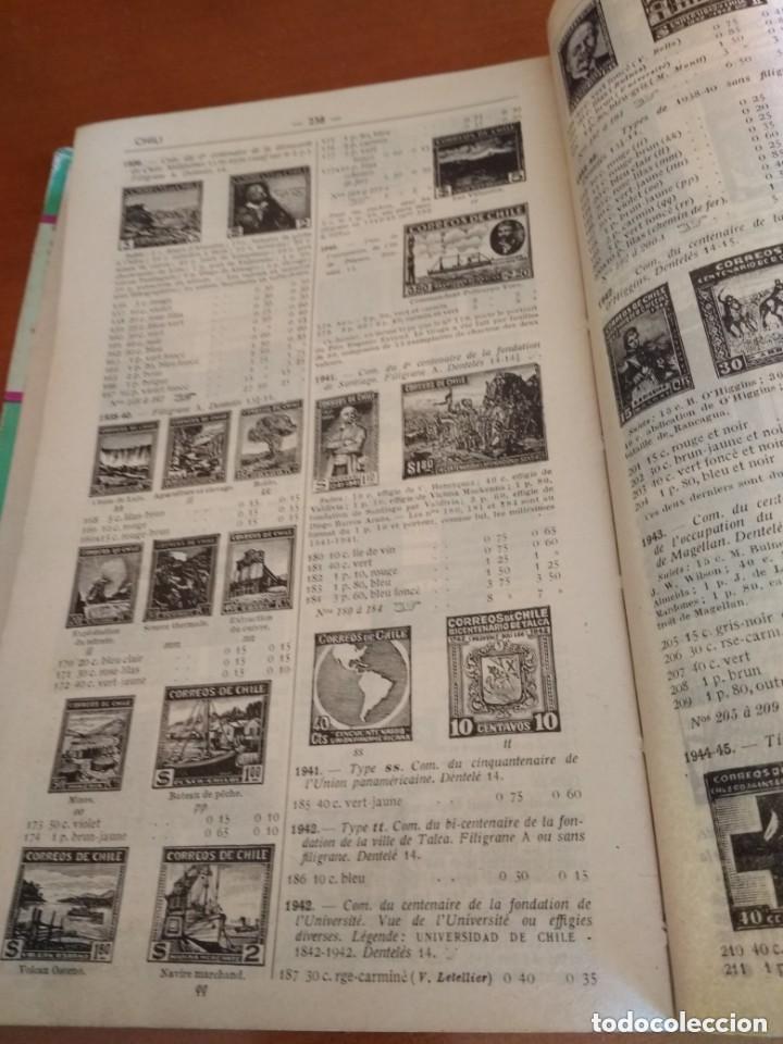 Sellos: CATALOGO DE TIMBRES POSTE - YVERT & TELLIER AÑO 1961 - Foto 5 - 209022860