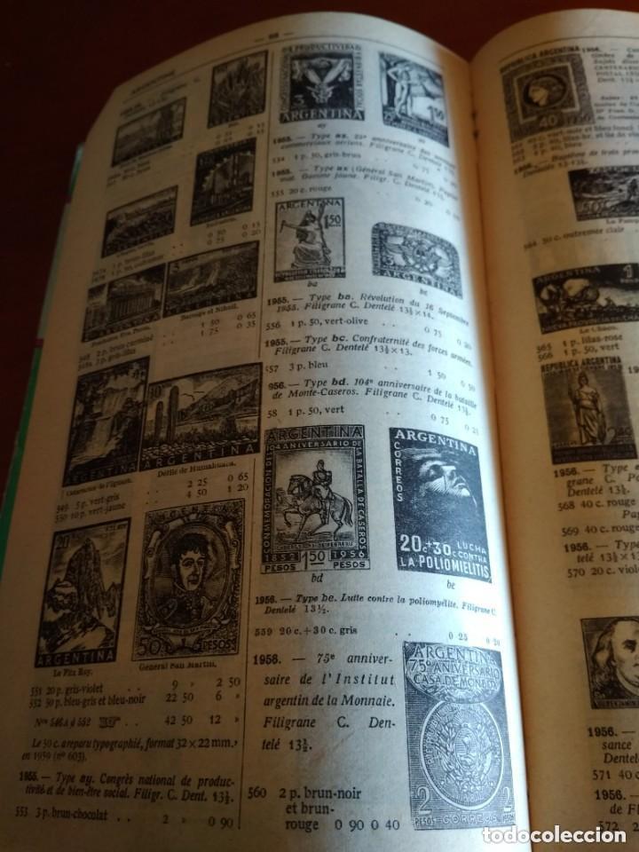 Sellos: CATALOGO DE TIMBRES POSTE - YVERT & TELLIER AÑO 1961 - Foto 6 - 209022860