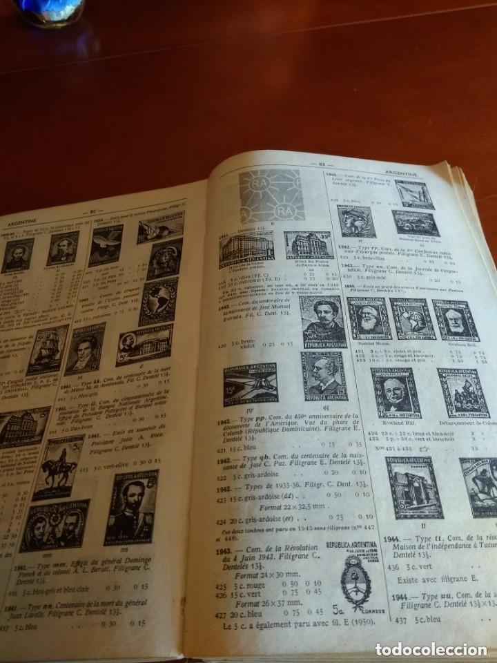 Sellos: CATALOGO DE TIMBRES POSTE - YVERT & TELLIER AÑO 1961 - Foto 7 - 209022860