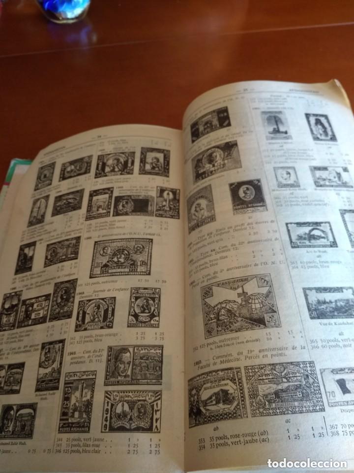 Sellos: CATALOGO DE TIMBRES POSTE - YVERT & TELLIER AÑO 1961 - Foto 9 - 209022860