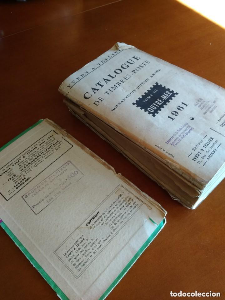 Sellos: CATALOGO DE TIMBRES POSTE - YVERT & TELLIER AÑO 1961 - Foto 13 - 209022860