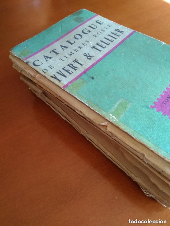Sellos: CATALOGO DE TIMBRES POSTE - YVERT & TELLIER AÑO 1961 - Foto 14 - 209022860