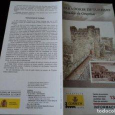 Sellos: INFORMACION FILATELICA DE CORREOS PARADOR DE OROPESA 2005. Lote 209816395