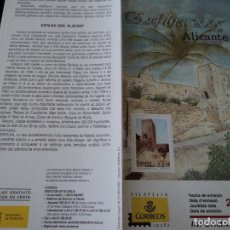 Sellos: INFORMACION FILATELICA DE CORREOS ALICANTE EXFILNA 2005. Lote 209816440