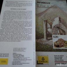 Sellos: INFORMACION FILATELICA DE CORREOS IGLESIA DE EL PONT DE SUERT 2005. Lote 209816770