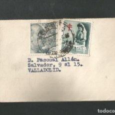Sellos: SOBRE CIRCULADO VALLADOLID A REINOSA - SANTANDER. Lote 209893430