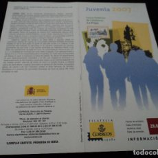 Sellos: INFORMACION FILATELICA DE CORREOS CALAHORRA JUVENIA 2007. Lote 210696334