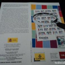 Sellos: INFORMACION FILATELICA DE CORREOS ASOCIASONISMO FILATELICO 2007. Lote 210696395