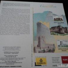 Sellos: INFORMACION FILATELICA DE CORREOS CASTILLO DE VILLENA 2007. Lote 210697221