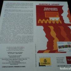 Sellos: INFORMACION FILATELICA DE CORREOS AMERICA UPAEP 2007. Lote 210697394