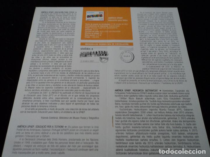 Sellos: INFORMACION FILATELICA DE CORREOS AMERICA UPAEP 2007 - Foto 2 - 210697394