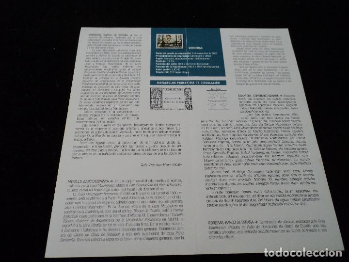 Sellos: INFORMACION FILATELICA DE CORREOS VIDRIERAS 2007 - Foto 2 - 210697537