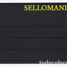 Francobolli: 25 FICHAS PROTECTORAS Y CLASIFICADORAS DE 4 BANDAS MEDIDAS 158X113 MM LEUCHTTURM. Lote 269809848