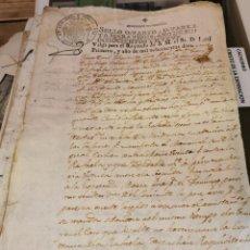 Timbres: PAPEL SELLADO NAPOLEÓN. TIMBROLOGÍA. SELLO 4º DE 1809 HABILITADO PARA EL AÑO DE 1810. Lote 216659551