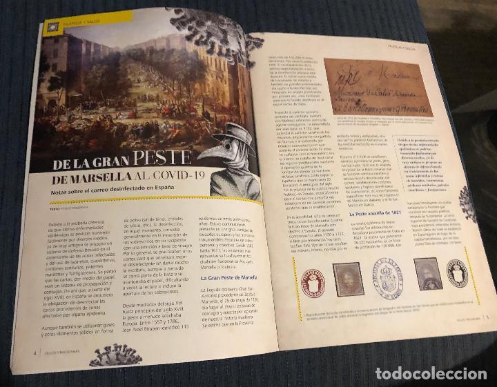 Sellos: Revista Sellos y mucho más, nº 60. Junio 2020. Actualidad filatélica. Nueva. - Foto 2 - 219338753