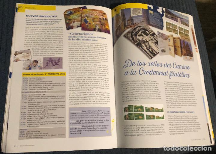 Sellos: Revista Sellos y mucho más, nº 60. Junio 2020. Actualidad filatélica. Nueva. - Foto 4 - 219338753