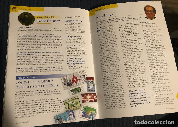 Sellos: Revista Sellos y mucho más, nº 60. Junio 2020. Actualidad filatélica. Nueva. - Foto 5 - 219338753