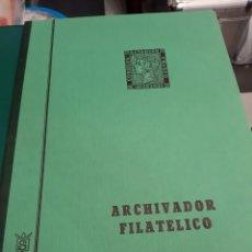 Sellos: ARCHIVADOR FILATELIA PLIEGIS GRANDES FORMATOS 45X25 GRAN CAPACIDAD. Lote 220978695