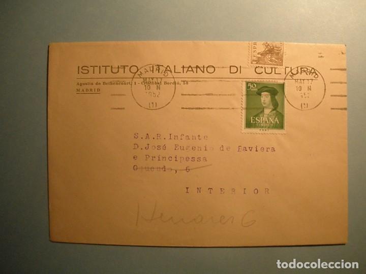 ESPAÑA 1952 - RODILLO MADRID-MADRID - INFANTE, JOSE EUGENIO DE BAVIERA - EDIFIL 1106. (Sellos - Material Filatélico - Otros)