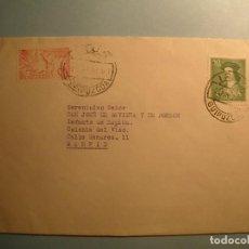 Timbres: ESPAÑA 1952 - MATASELLO REDONDO IRUN - JOSE EUGENIO DE BAVIERA Y DE BORBON - EDIFIL 952 Y 1106.. Lote 222934992