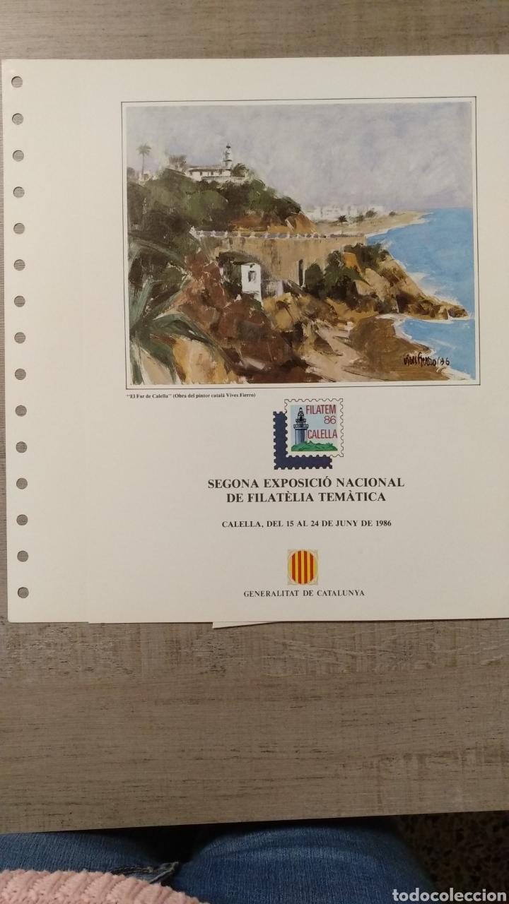 Sellos: DOCUMENTOS FILATÉLICOS GENERALITAT DE CATALUNYA - Foto 3 - 223607561