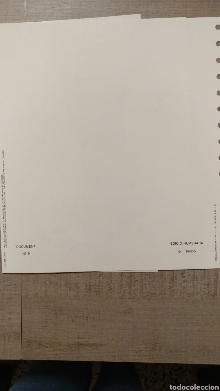 Sellos: DOCUMENTOS FILATÉLICOS GENERALITAT DE CATALUNYA - Foto 6 - 223607561