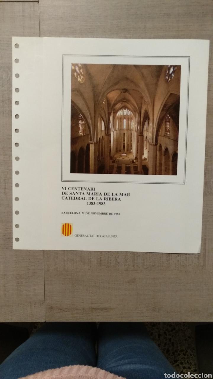 Sellos: DOCUMENTOS FILATÉLICOS GENERALITAT DE CATALUNYA - Foto 8 - 223607561