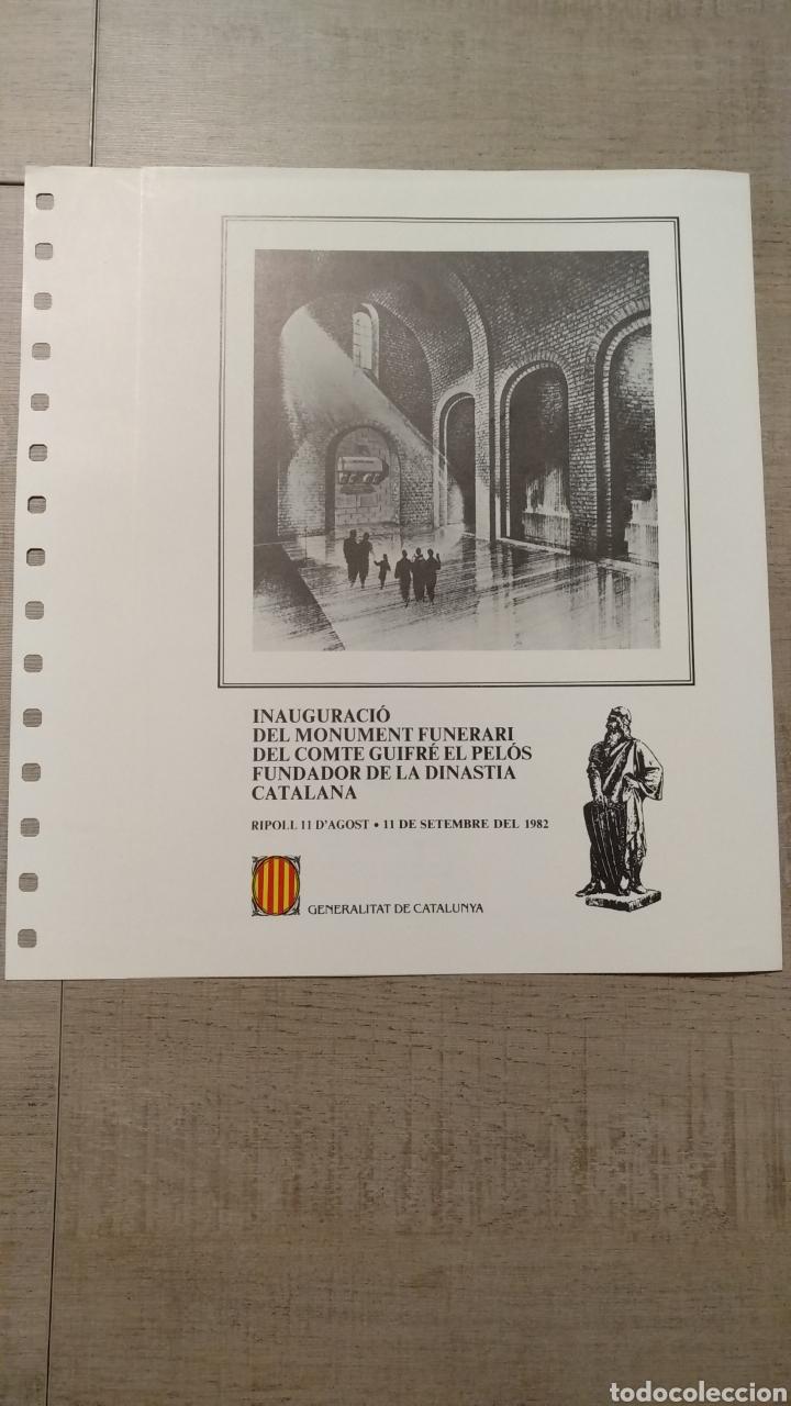 Sellos: DOCUMENTOS FILATÉLICOS GENERALITAT DE CATALUNYA - Foto 12 - 223607561