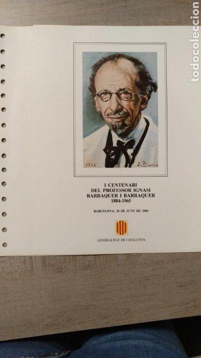 Sellos: DOCUMENTOS FILATÉLICOS GENERALITAT DE CATALUNYA - Foto 13 - 223607561