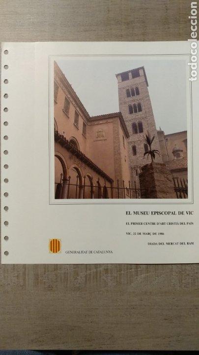 Sellos: DOCUMENTOS FILATÉLICOS GENERALITAT DE CATALUNYA - Foto 18 - 223607561
