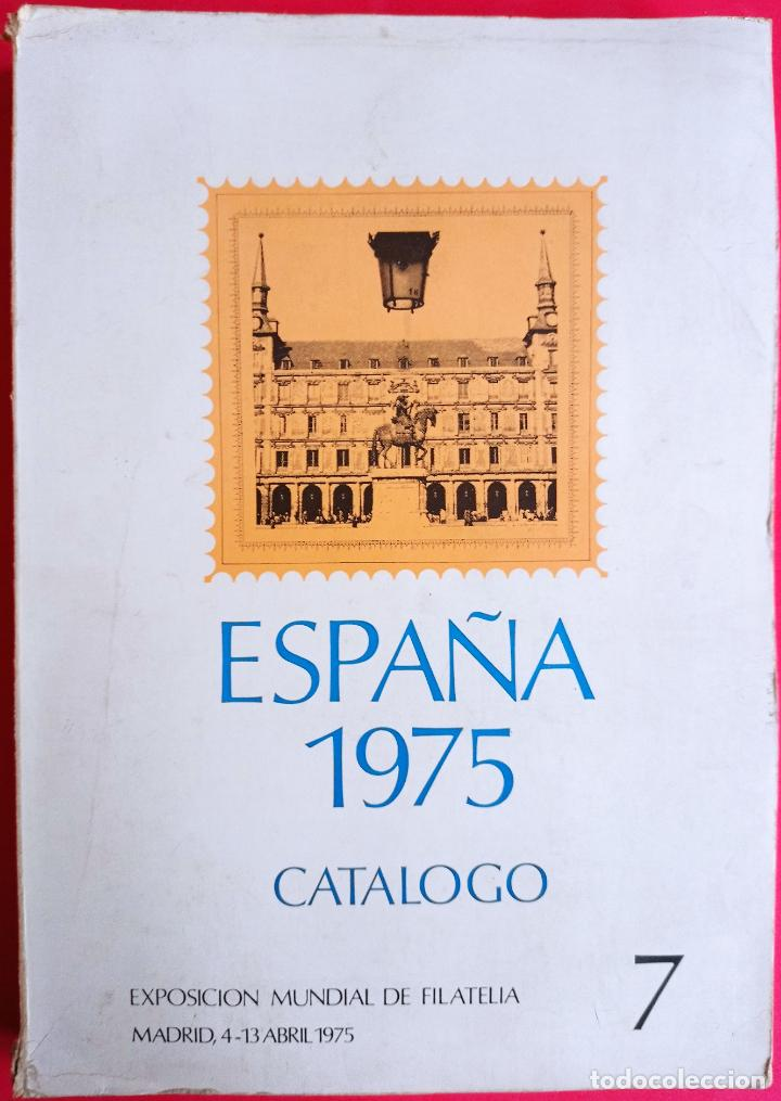 LOTE FIL-CAT-004 FILATELIA, SELLOS; CATALOGO EXPOSISICIÓN MUNDIAL FILATELIA 1975; EXFILNA 75, CON ET (Sellos - Material Filatélico - Otros)
