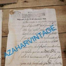 Sellos: HABILITADO JOSE NAPOLEON AÑO 1812 SELLO CUARTO DE 40 MARAVEDIS TIMBROLOGIA , INDEPENDENCIA. Lote 242485605