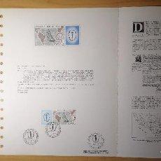 Sellos: DOCUMENTOS FILATELICOS ESPAMER 1977 + REGALO. Lote 243672450