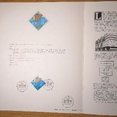 Sellos: DOCUMENTOS FILATELICOS XI FERIA NACIONAL DEL SELLO 1978 + REGALO. Lote 243674990