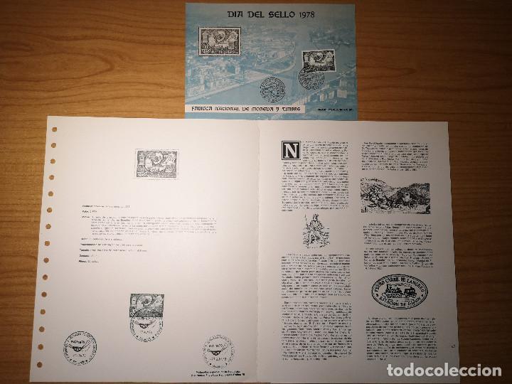 DOCUMENTOS FILATELICOS EXFILNA1978 + REGALO (Sellos - Material Filatélico - Otros)