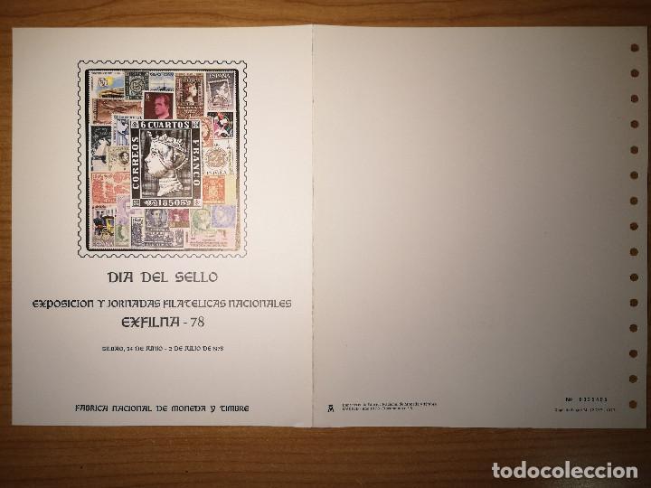 Sellos: Documentos filatelicos Exfilna1978 + Regalo - Foto 3 - 243676935