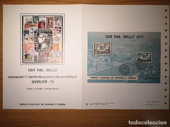 Sellos: Documentos filatelicos Exfilna1978 + Regalo - Foto 4 - 243676935