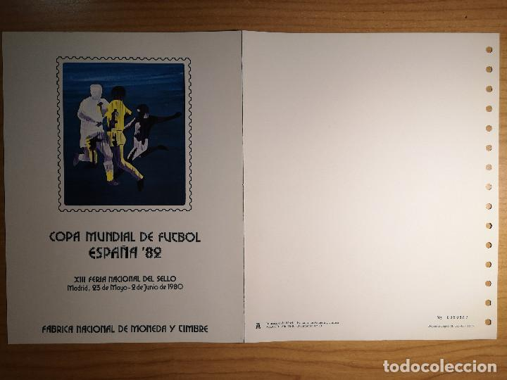 Sellos: Documentos filatelicos XIII Feria Nacional del Sello 1980 + Regalo - Foto 3 - 243684935