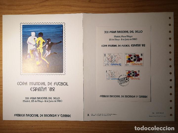 Sellos: Documentos filatelicos XIII Feria Nacional del Sello 1980 + Regalo - Foto 4 - 243684935