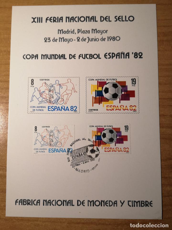 Sellos: Documentos filatelicos XIII Feria Nacional del Sello 1980 + Regalo - Foto 5 - 243684935