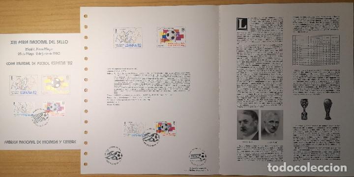 DOCUMENTOS FILATELICOS XIII FERIA NACIONAL DEL SELLO 1980 + REGALO (Sellos - Material Filatélico - Otros)